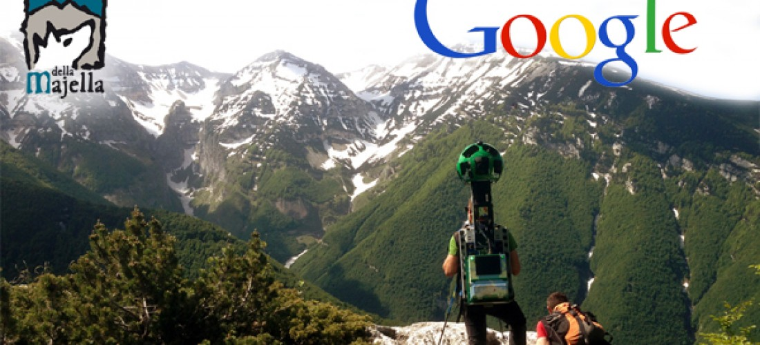 Discover Abruzzo's Mountain Park Majella with google Maps!